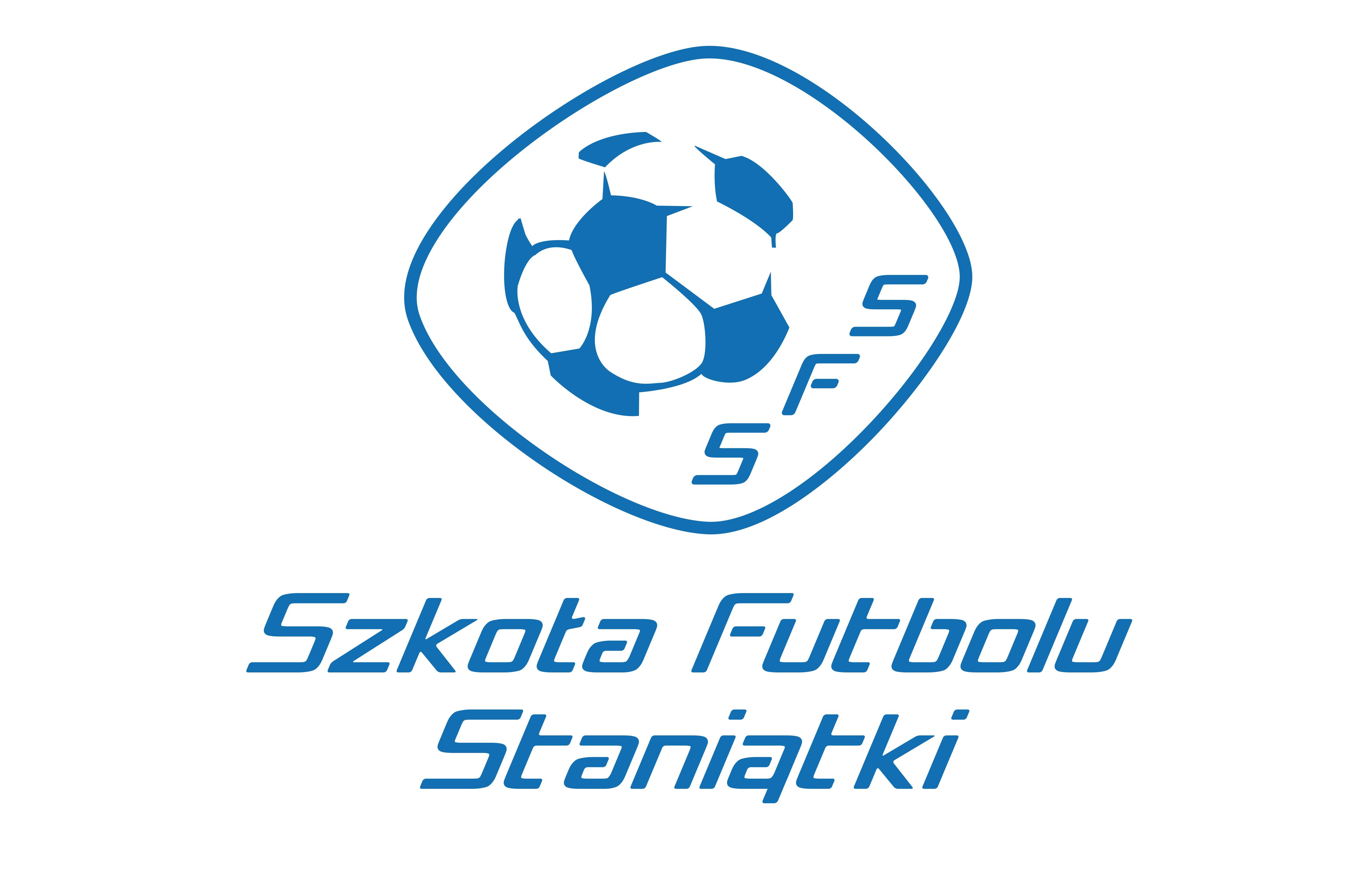 logo szkoła futbolu staniątki
